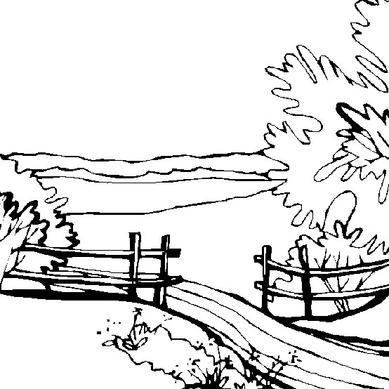 outdoor coloring pages - photo#12